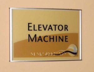 Code Elevator Sign 2