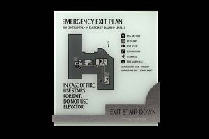 Code Emergency Exit Sign