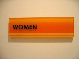 Code Restroom Sign 3