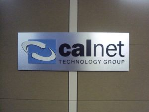 Aluminum Panel with Acrylic Logo