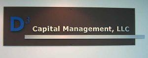 Corporate ID Acrylic Sign With Aluminum Bar