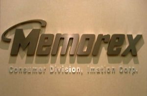 Corporate ID Anodized Metal Sign