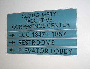 Directory Modular Directional Sign
