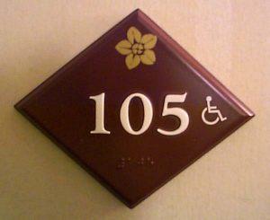 Guestroom Sign 3