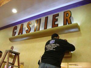Interior Sign Installations (2)