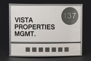 Suite Signage