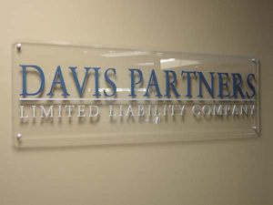 Corporate ID Painted Acrylic Sign