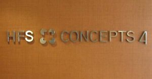 Corporate ID Stainless Steel Letters Sign