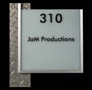 Suite Diamond Plate Sign